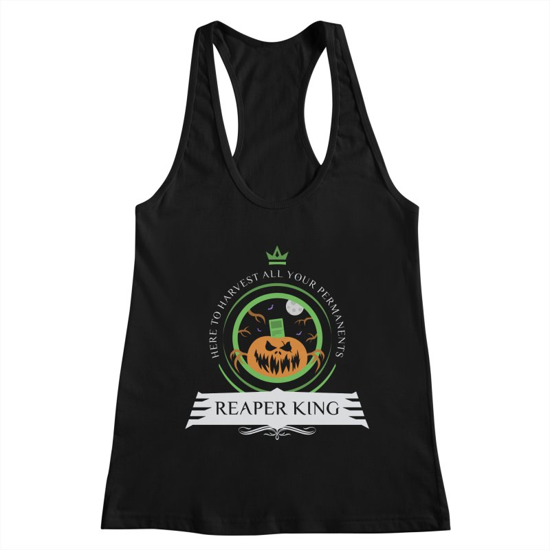 Commander Reaper King Women's Racerback Tank by Epic Upgrades