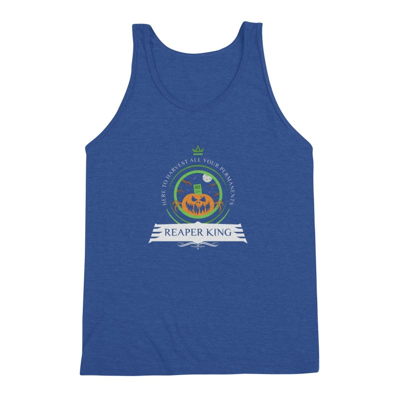 Commander Reaper King Men's Triblend Tank by Epic Upgrades