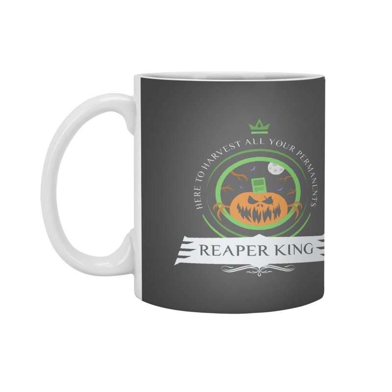 Commander Reaper King Accessories Mug by Epic Upgrades