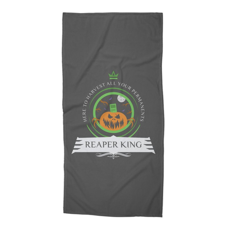 Commander Reaper King Accessories Beach Towel by Epic Upgrades