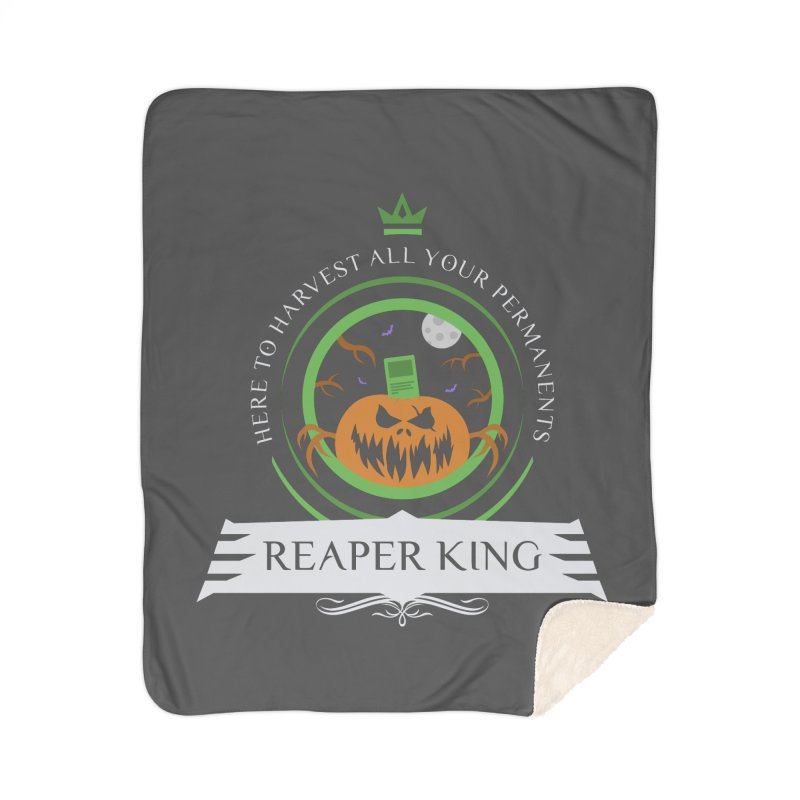 Commander Reaper King Home Sherpa Blanket Blanket by Epic Upgrades