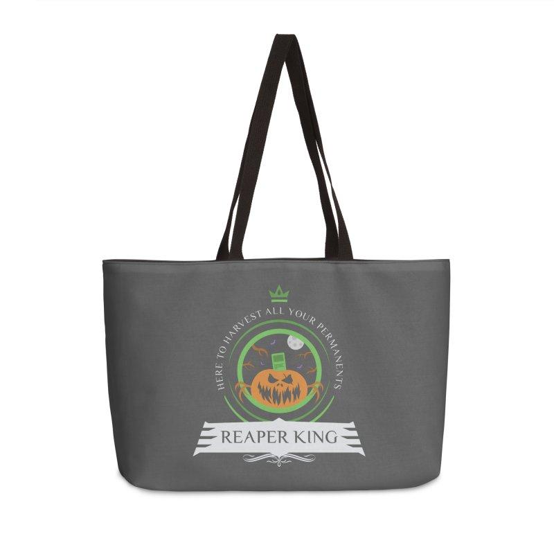Commander Reaper King Accessories Weekender Bag Bag by Epic Upgrades