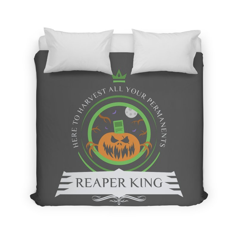 Commander Reaper King Home Duvet by Epic Upgrades
