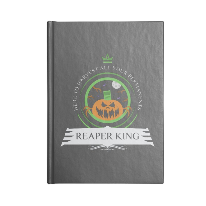 Commander Reaper King Accessories Blank Journal Notebook by Epic Upgrades