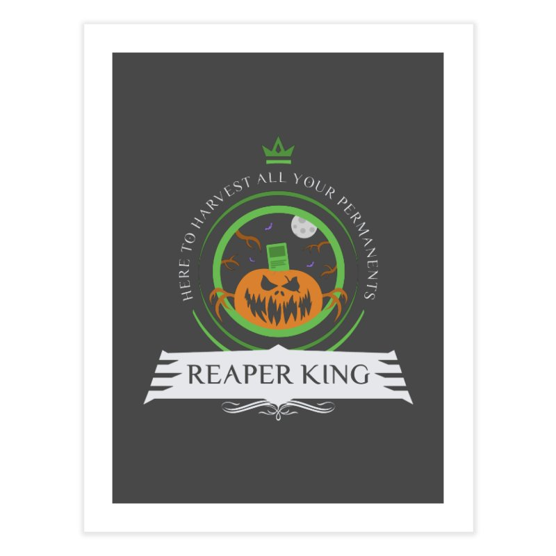 Commander Reaper King Home Fine Art Print by Epic Upgrades