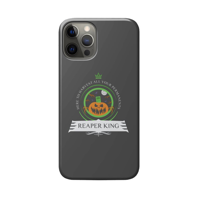Commander Reaper King Accessories Phone Case by Epic Upgrades