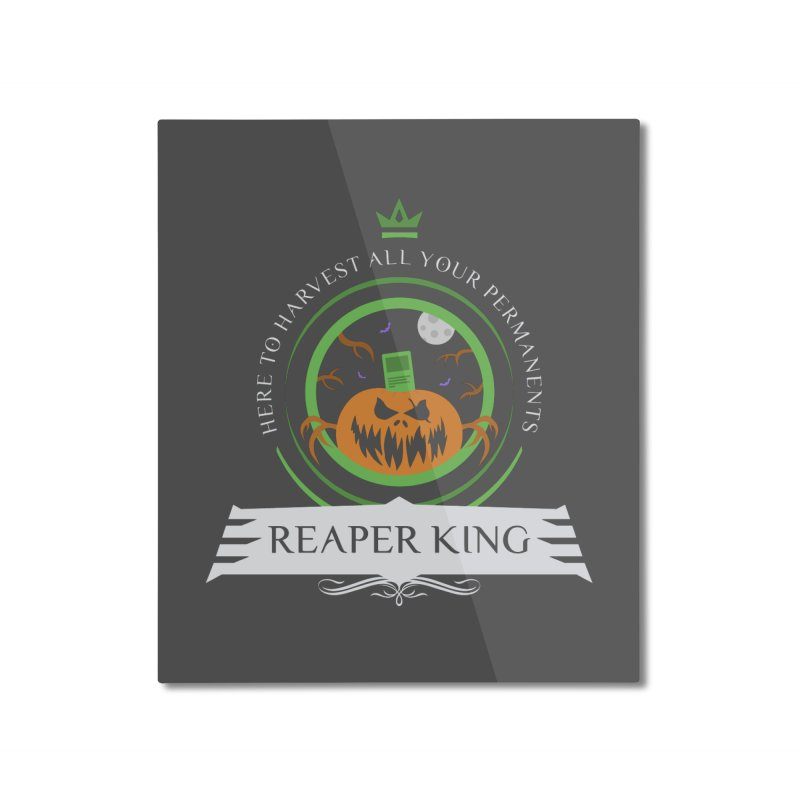 Commander Reaper King Home Mounted Aluminum Print by Epic Upgrades
