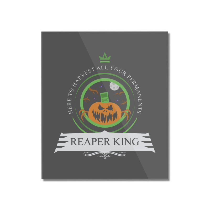 Commander Reaper King Home Mounted Acrylic Print by Epic Upgrades