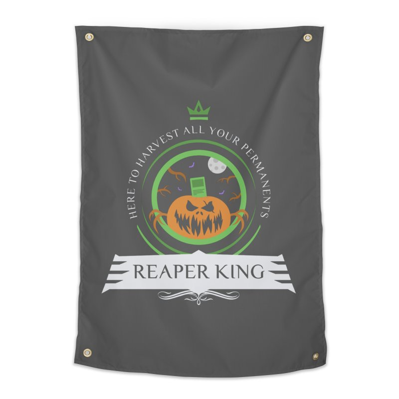 Commander Reaper King Home Tapestry by Epic Upgrades