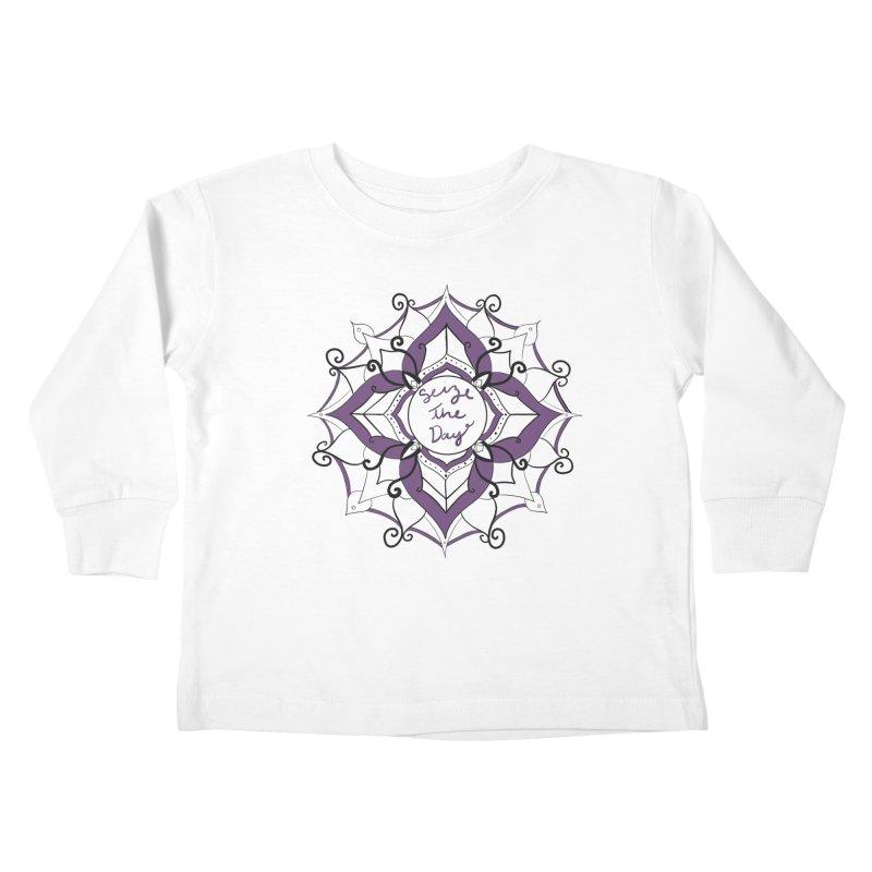 Seize your zen Kids Toddler Longsleeve T-Shirt by Epileptic Explorer