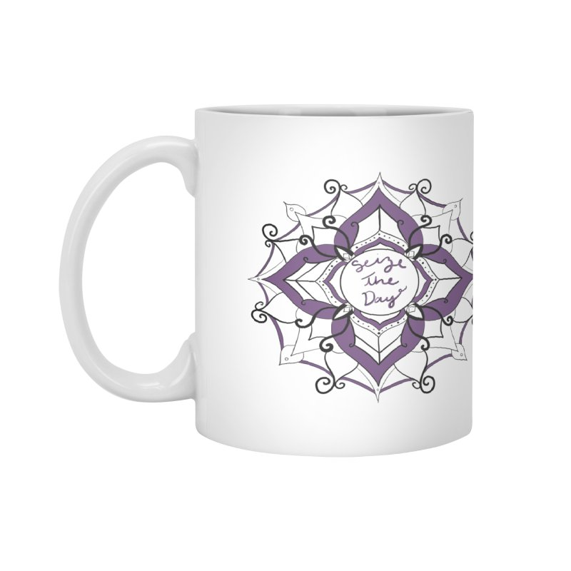 Seize your zen Accessories Mug by Epileptic Explorer