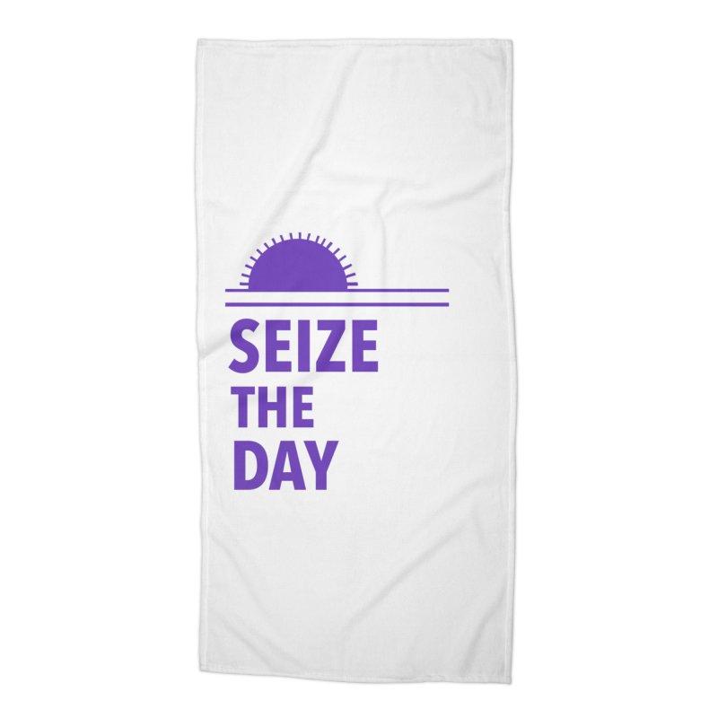 Seize The Sun Accessories Beach Towel by Epileptic Explorer
