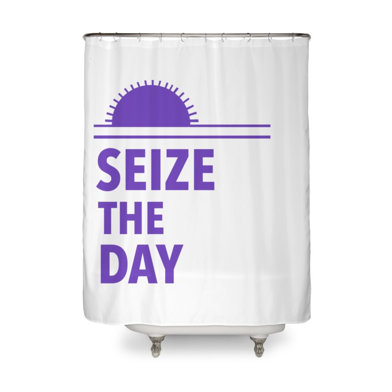 Seize The Sun Home Shower Curtain by Epileptic Explorer