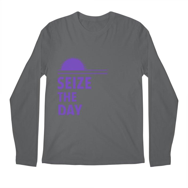 Seize The Sun Men's Longsleeve T-Shirt by Epileptic Explorer