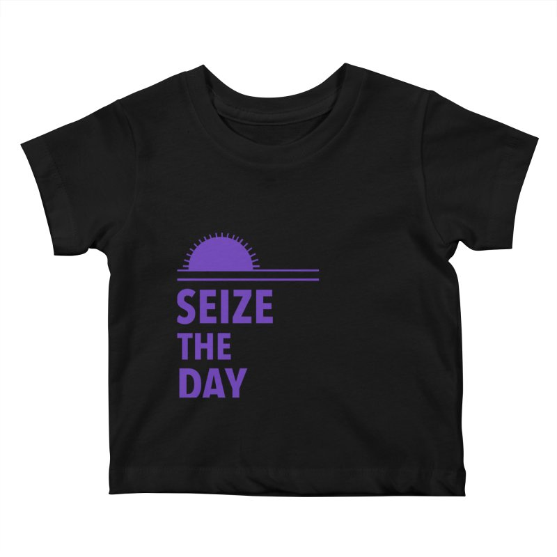 Seize The Sun Kids Baby T-Shirt by Epileptic Explorer