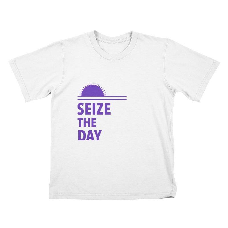 Seize The Sun Kids T-Shirt by Epileptic Explorer