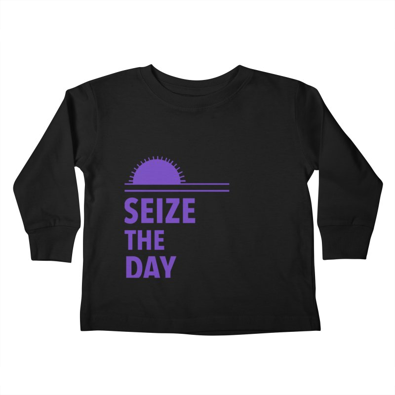 Seize The Sun Kids Toddler Longsleeve T-Shirt by Epileptic Explorer