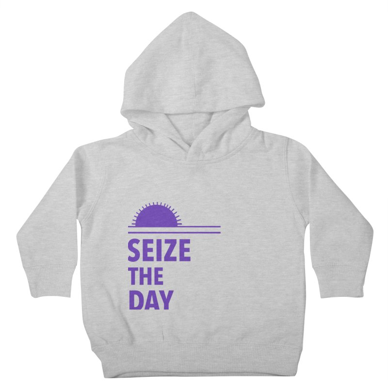 Seize The Sun Kids Toddler Pullover Hoody by Epileptic Explorer