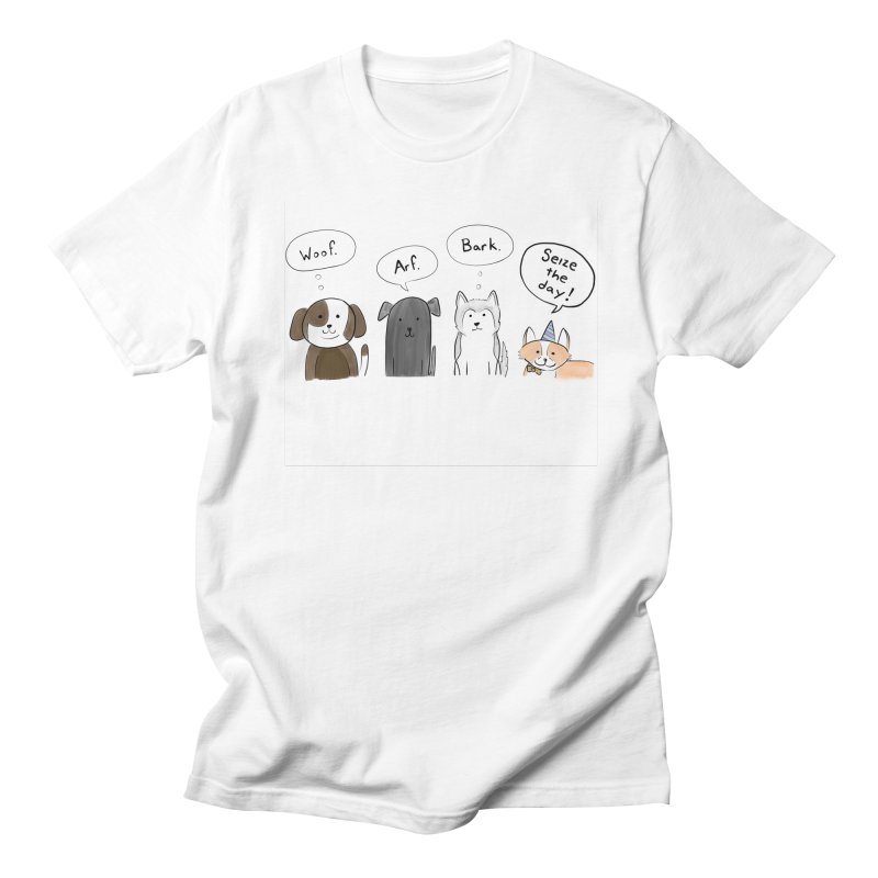 Seize the woofs! Men's T-Shirt by Epileptic Explorer
