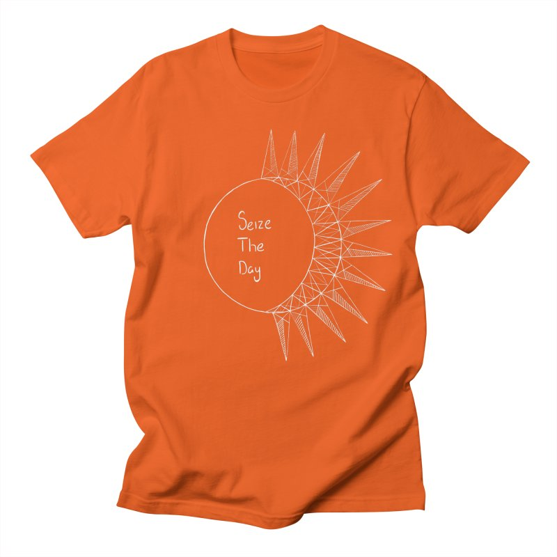 Seize The Solar Lunar Cycle (white) Women's T-Shirt by Epileptic Explorer