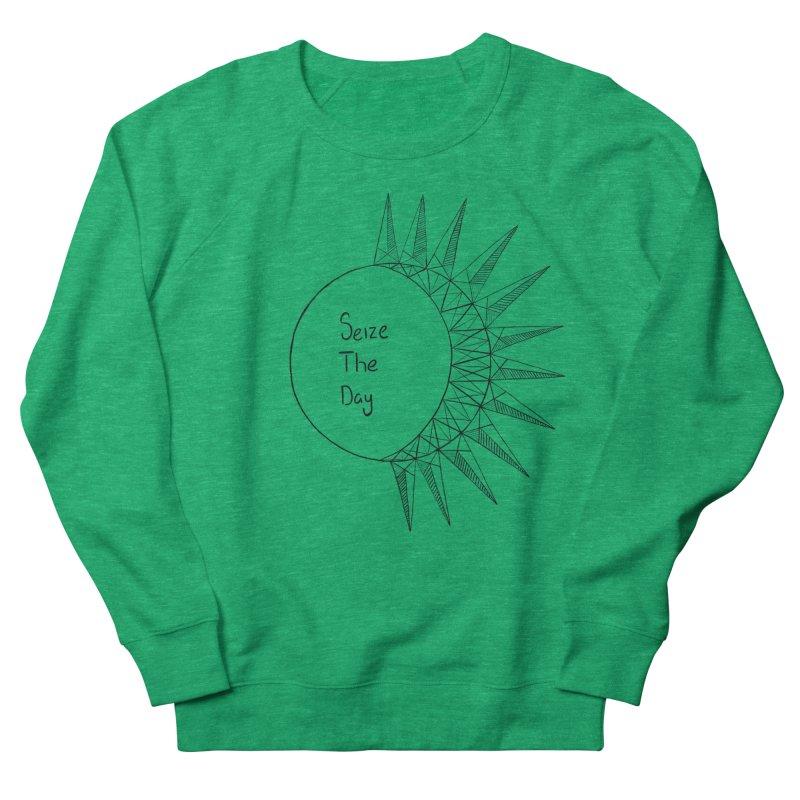 Seize The Solar Lunar Cycle (black) Women's Sweatshirt by Epileptic Explorer