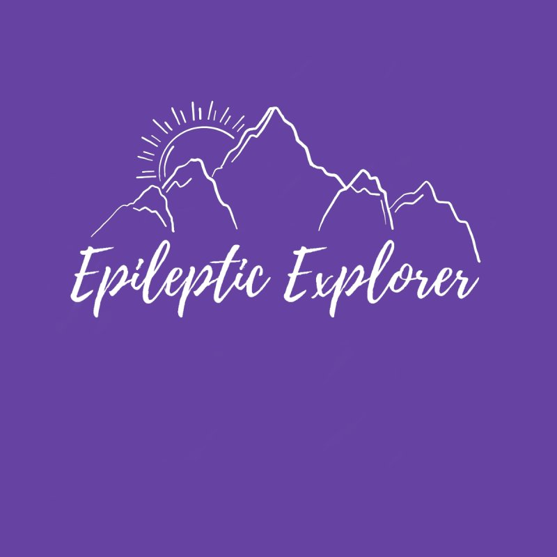 Epileptic Explorer in White Men's T-Shirt by Epileptic Explorer