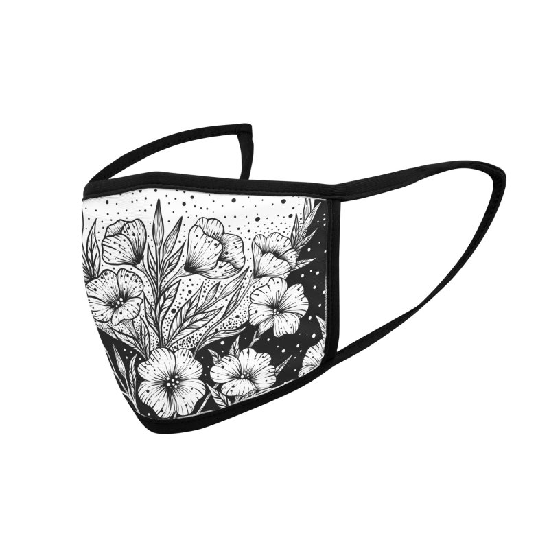 Moon Greeting Accessories Face Mask by episodic's Artist Shop