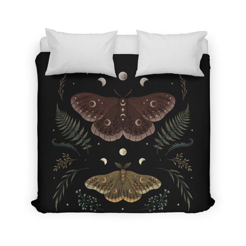 Saturnia Pavonia Home Duvet by episodic's Artist Shop