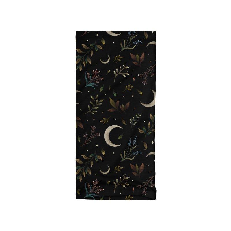 Crescent Moon Garden Accessories Neck Gaiter by episodic's Artist Shop
