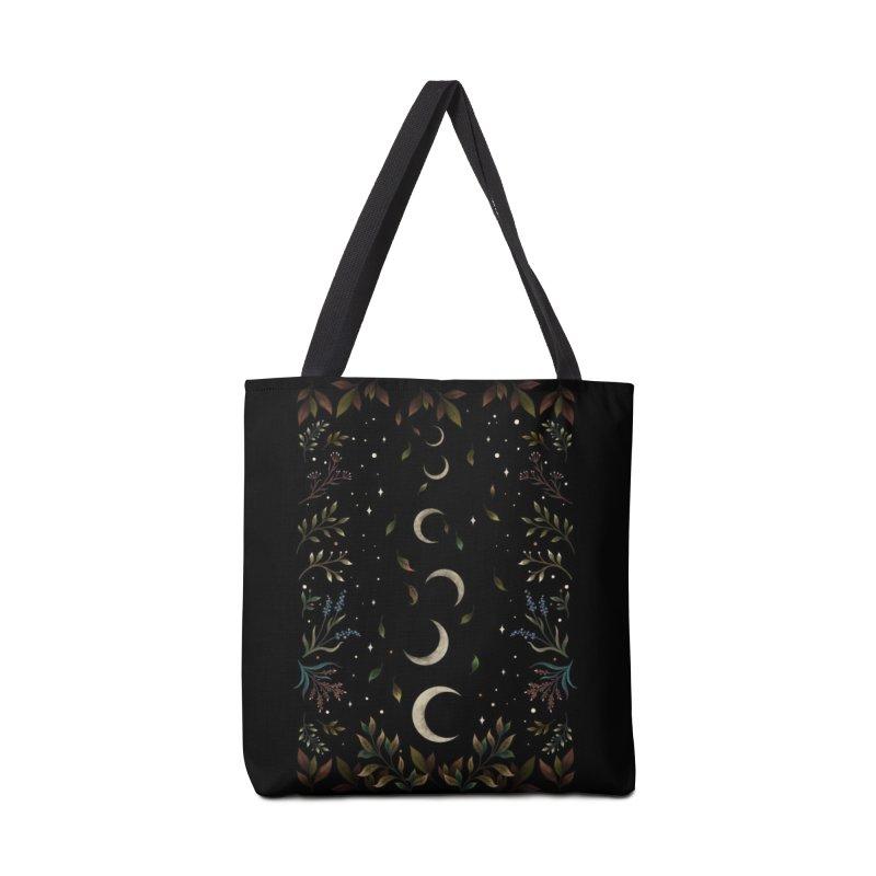 Crescent Moon Garden Accessories Bag by episodic's Artist Shop