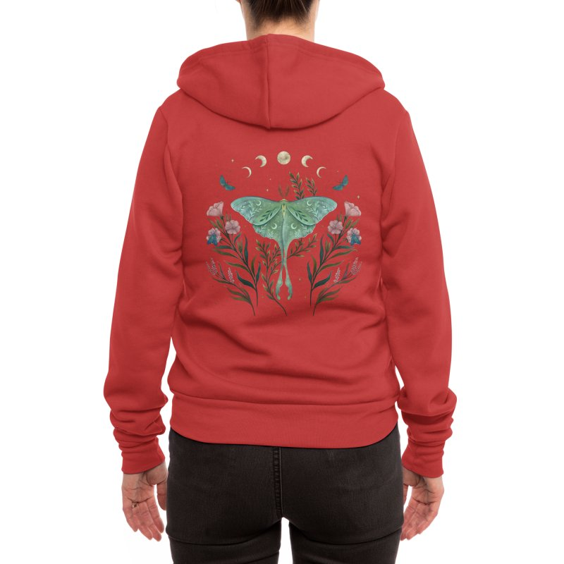 Luna and Forester Women's Zip-Up Hoody by episodic's Artist Shop