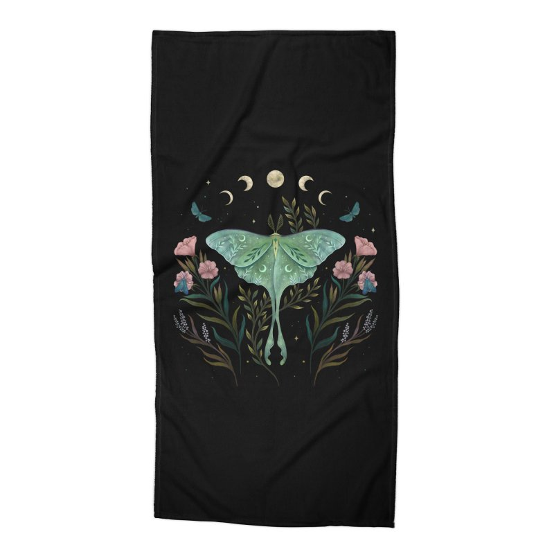 Luna and Forester Accessories Beach Towel by episodic's Artist Shop