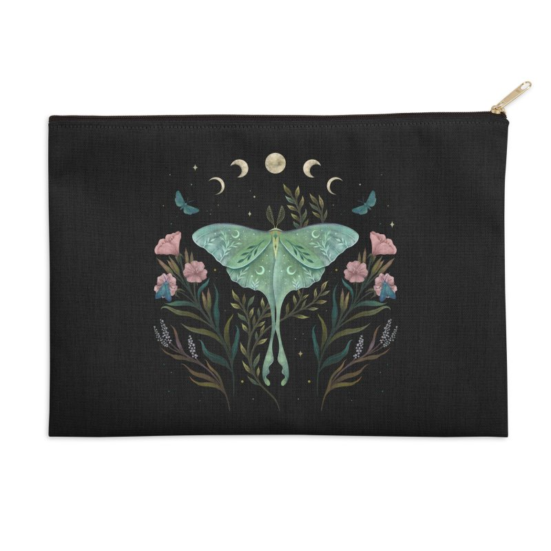 Luna and Forester Accessories Zip Pouch by episodic's Artist Shop