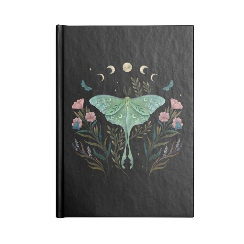 Luna and Forester Accessories Notebook by episodic's Artist Shop