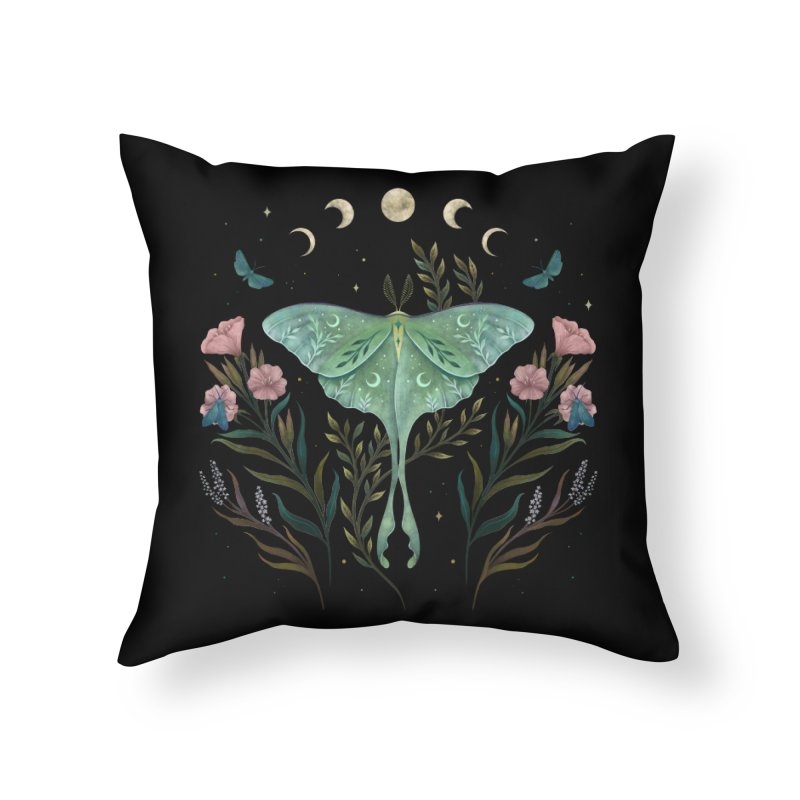 Luna and Forester Home Throw Pillow by episodic's Artist Shop