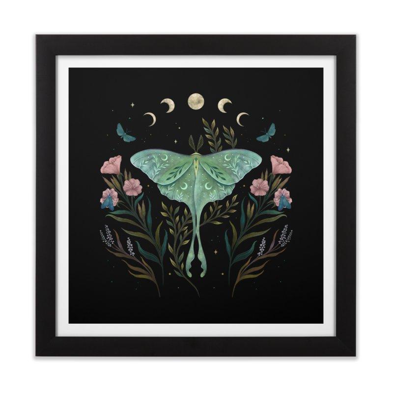 Luna and Forester Home Framed Fine Art Print by episodic's Artist Shop