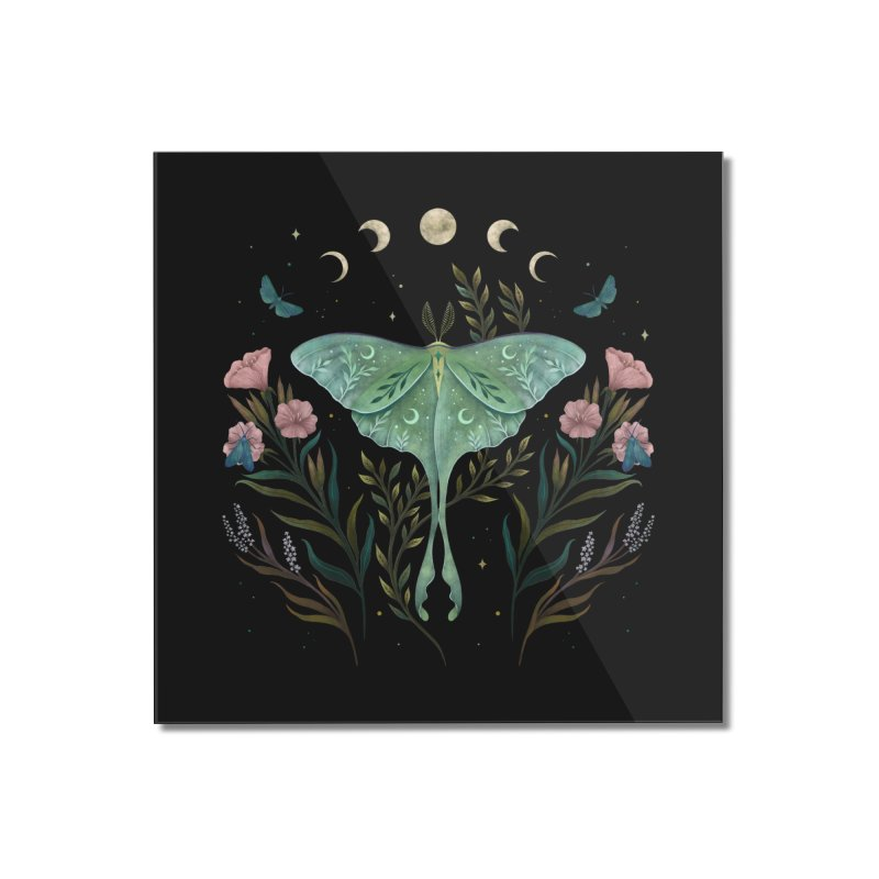Luna and Forester Home Mounted Acrylic Print by episodic's Artist Shop