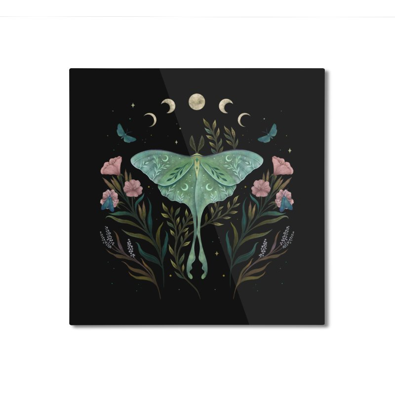 Luna and Forester Home Mounted Aluminum Print by episodic's Artist Shop