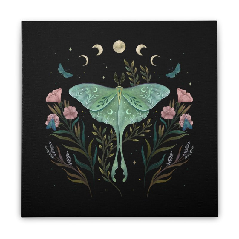 Luna and Forester Home Stretched Canvas by episodic's Artist Shop