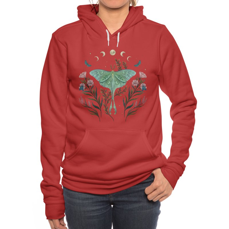 Luna and Forester Women's Pullover Hoody by episodic's Artist Shop
