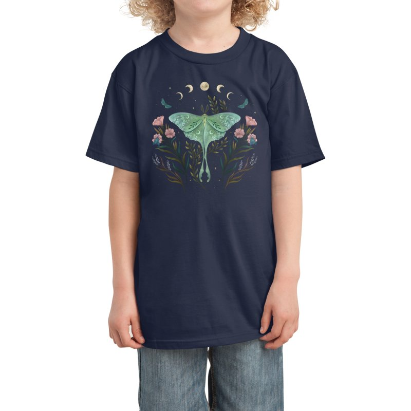 Luna and Forester Kids T-Shirt by episodic's Artist Shop