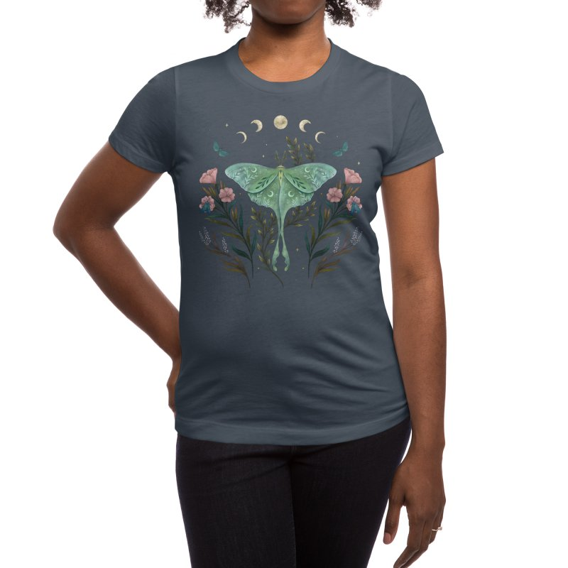 Luna and Forester Women's T-Shirt by episodic's Artist Shop
