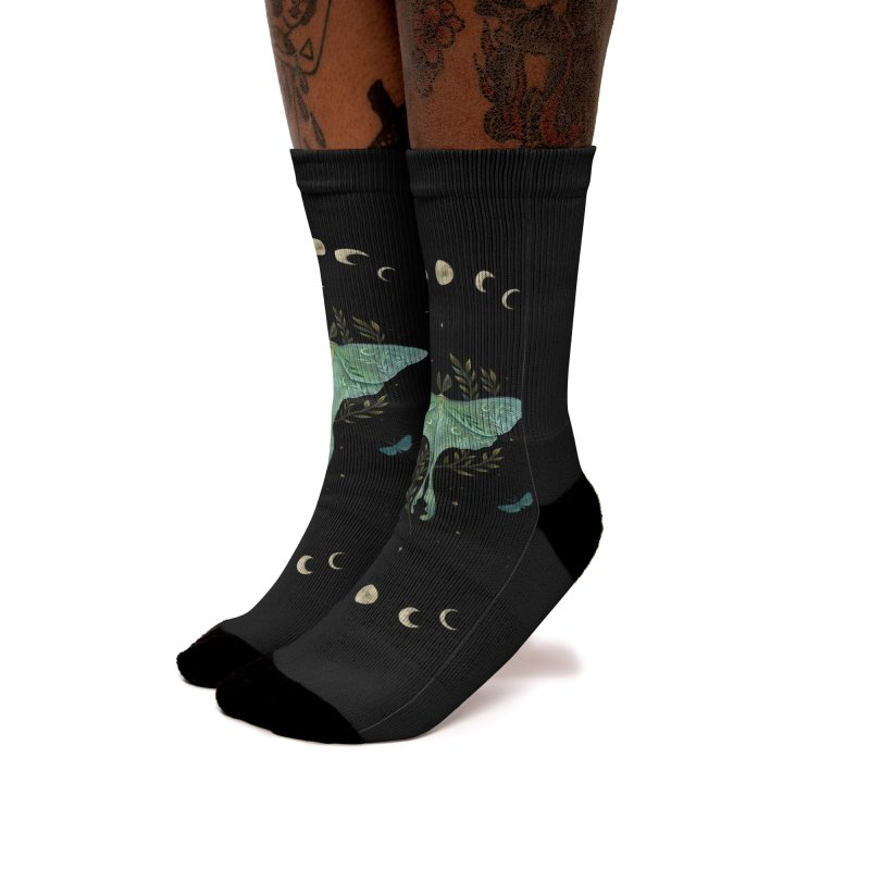 Luna and Forester Women's Socks by episodic's Artist Shop