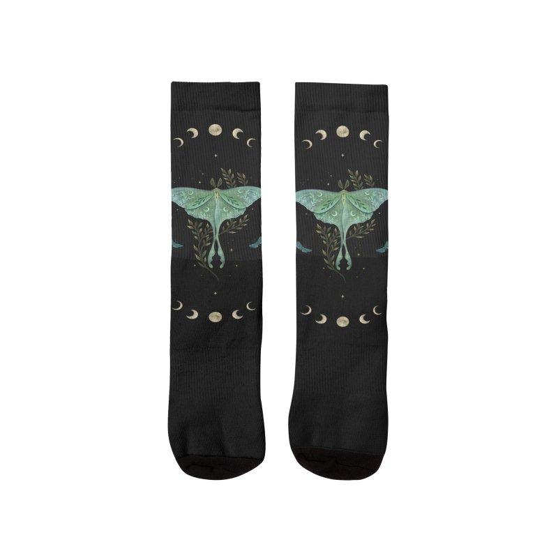 Luna and Forester Men's Socks by episodic's Artist Shop