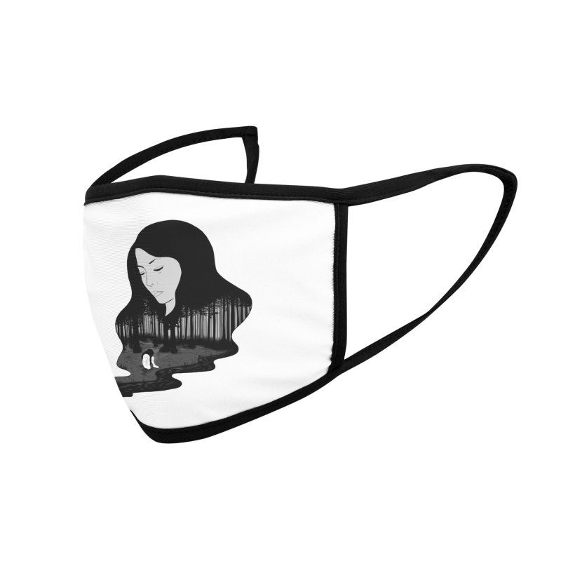 Crying Inside Accessories Face Mask by episodic's Artist Shop