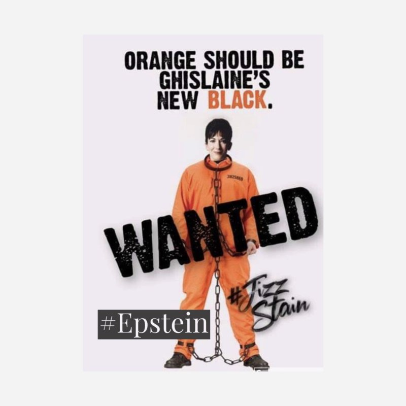 Where is Ghislaine Maxwell, Epstein Sticker free shipping Accessories Magnet by The Jeffrey Epstein Shop