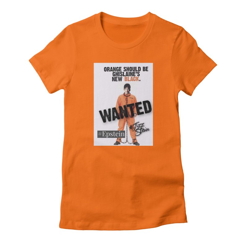 Where is Ghislaine Maxwell, Epstein Sticker free shipping Women's T-Shirt by The Jeffrey Epstein Shop