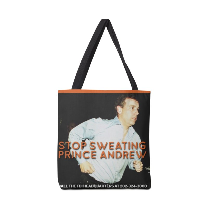 Prince Andrew Randy Andy Sweating Accessories Bag by The Jeffrey Epstein Shop