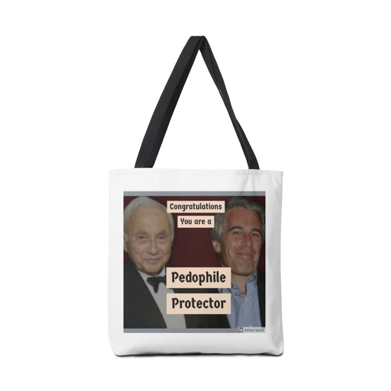 Pedo Protector Sticker Accessories Bag by The Jeffrey Epstein Shop