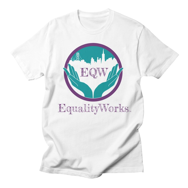 Equality Works Logo Men's T-Shirt by Equality Works (EQW)